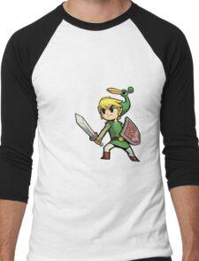 Childhood Destruction (Pokemon, Zelda, Mario) Men's Baseball ¾ T-Shirt