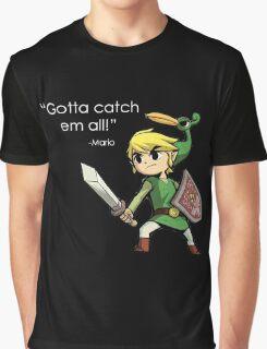 Childhood Destruction (Pokemon, Zelda, Mario) Graphic T-Shirt