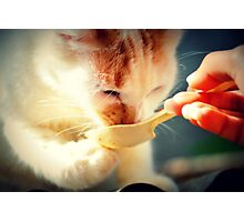 Let Me Hold The Spoon Photographic Print