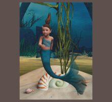 Little Mermaid One Piece - Short Sleeve