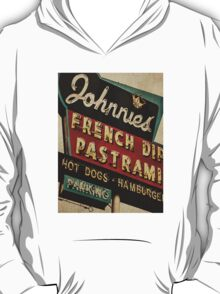 Johnnie's French Dip Vintage/Retro Sign T-Shirt