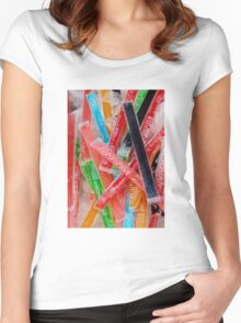 Freezer Pops Women's Fitted Scoop T-Shirt