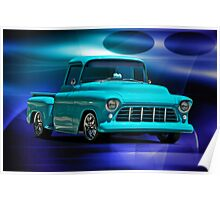 1956 Chevrolet Stepside Pick-Up Truck IV Poster