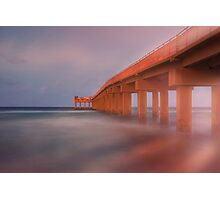 Newport Fishing Pier Photographic Print