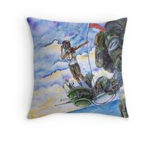 Crow's Nest Throw Pillow