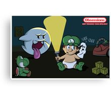 Obessions Series- Luigi Canvas Print