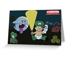Obessions Series- Luigi Greeting Card
