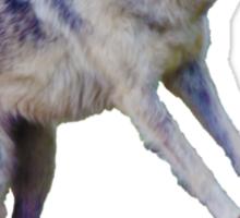 Wolfboarding Sticker