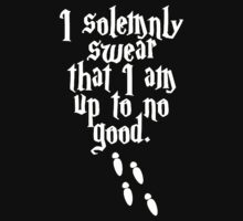 Harry Potter  i solemnly swear that i am up to no good by Strother