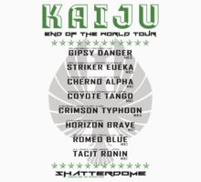 Kaiju End of the World Tour - Normal by Adam Angold