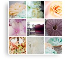 Pretty as a picture Canvas Print