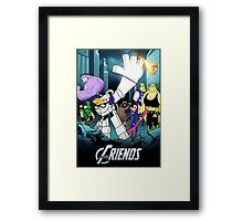 The Justice Friends Framed Print