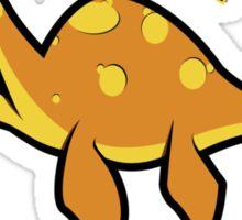 Polite dinos always say PLEASE! Sticker