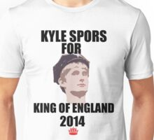 Kyle Spors For King of England Unisex T-Shirt