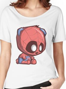 Spider-Panda Women's Relaxed Fit T-Shirt