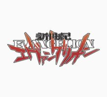 Evangelion Title Logo One Piece - Long Sleeve