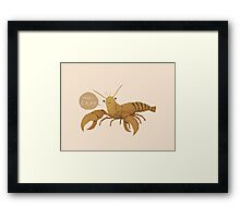 thats cray Framed Print
