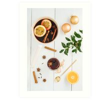 Mulled wine Art Print