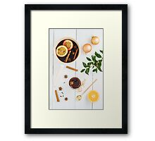 Mulled wine Framed Print