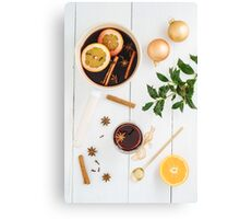 Mulled wine Canvas Print
