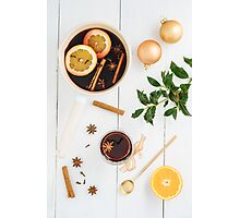 Mulled wine Photographic Print