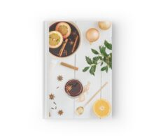 Mulled wine Hardcover Journal