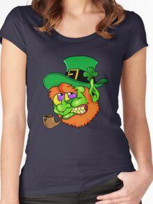 Leprechaun  Women's Fitted Scoop T-Shirt