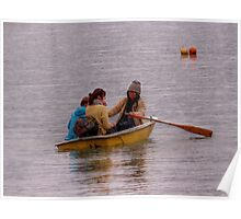 Row...row... row... your boat...........! Poster