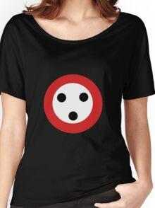Button Man Women's Relaxed Fit T-Shirt