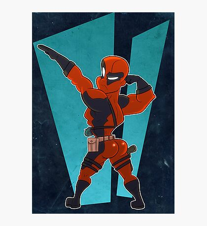 Deadpool Got Da Booty Photographic Print