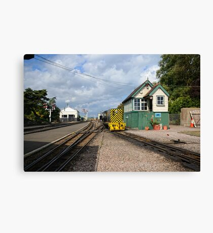 RHDR New Romney Station Canvas Print