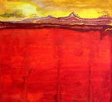 Mojave Dawn original painting by CrowRisingMedia