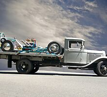 Hot Rod Hauler II 1934 by DaveKoontz