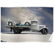 Hot Rod Hauler II 1934 Poster
