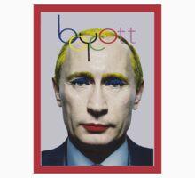 Boycott Putin Kids Tee