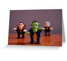 Monsters! Greeting Card