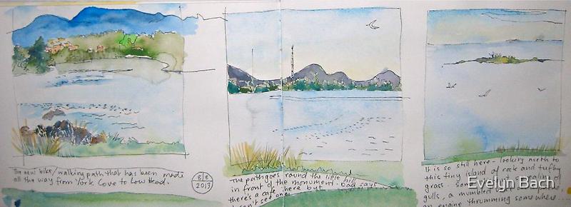 Three views by Evelyn Bach
