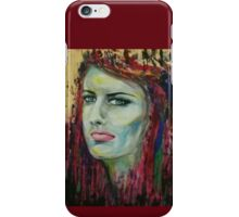 girl flowing iPhone Case/Skin