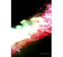 Idea + Light + Time = Art B Photographic Print