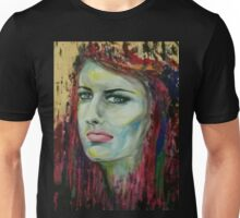 girl flowing Unisex T-Shirt