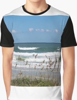 Breaking Waves Graphic T-Shirt