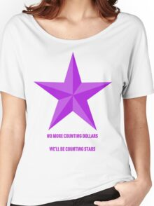 Counting Stars ; OneRepublic Women's Relaxed Fit T-Shirt
