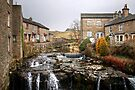The River Ure at Hawes by Christine Smith