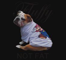 Fluffy; Not Fat One Piece - Short Sleeve