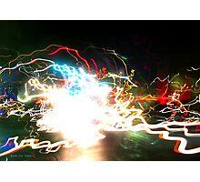 Idea + Light + Time = Art C Photographic Print