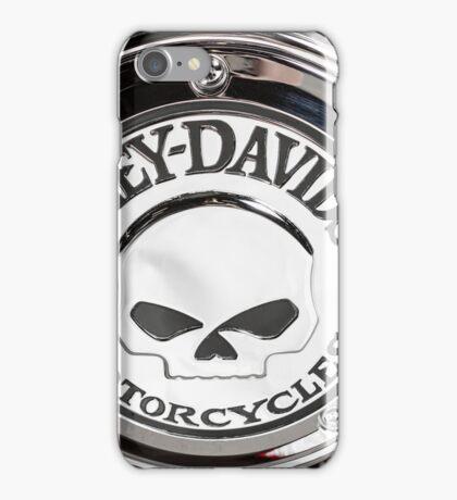 Harley Chrome 1 iPhone Case/Skin