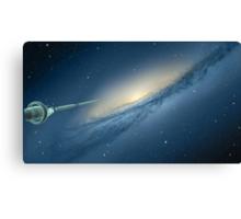A Galaxy Beckons Canvas Print