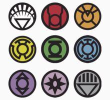 Lantern Corp Logo's by TheBatbot