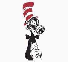 Nuke-A-Seuss basic Street Art Stencil T-Shirt