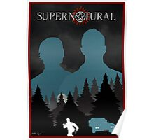 Vintage Supernatural Poster